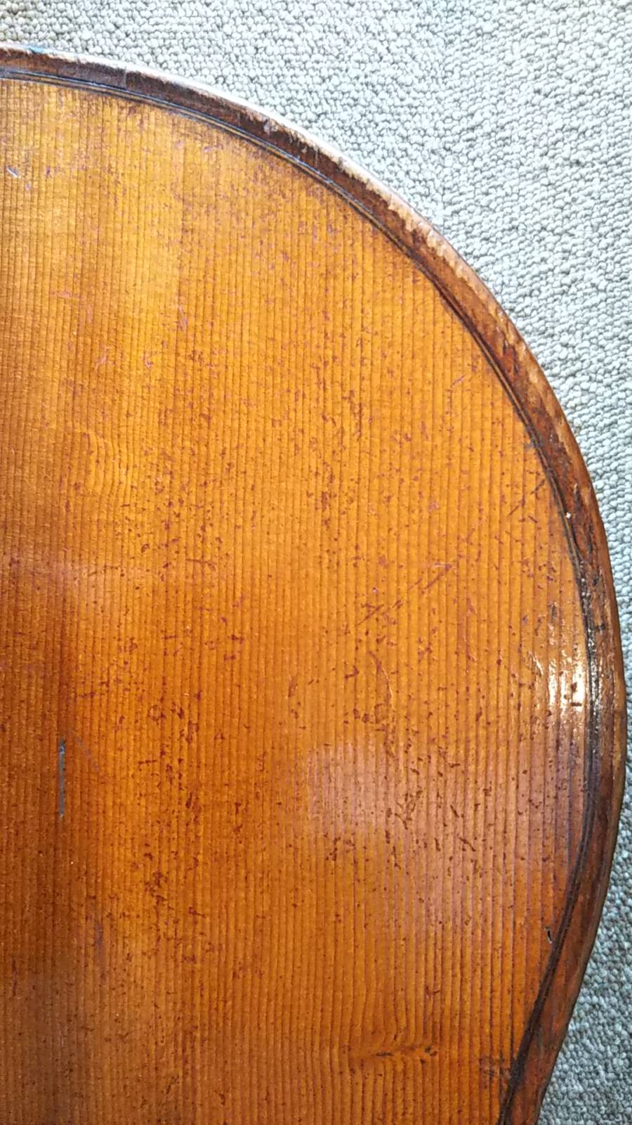 French Cello , Atelier Caussin Neufchateau1880年頃