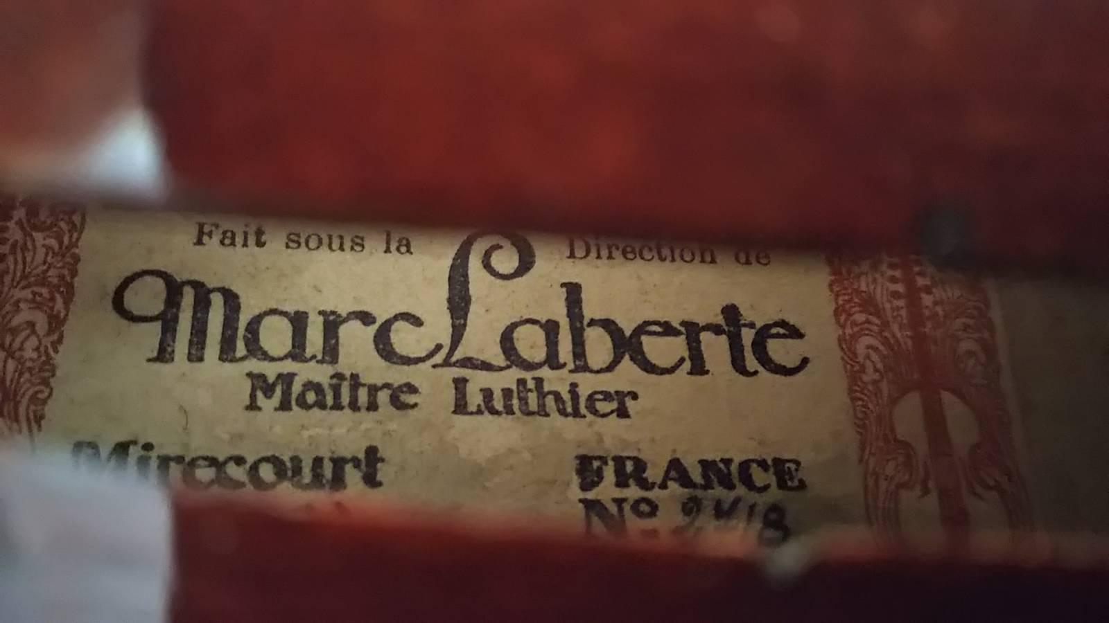 Marc Laberte 1951年 Mirecourt